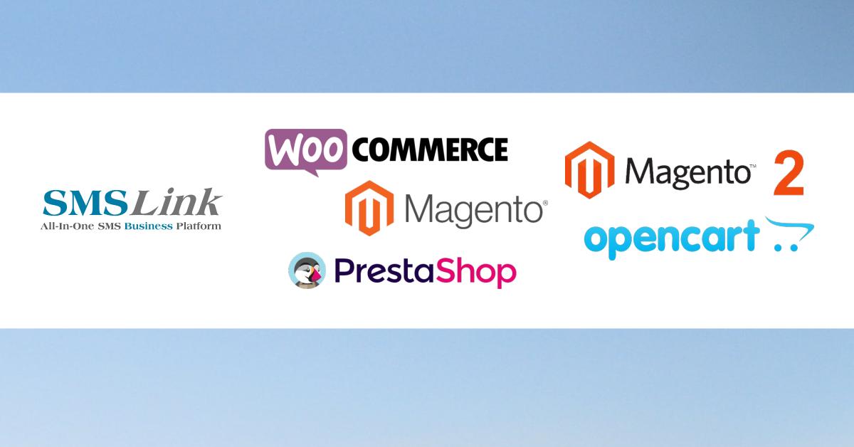 Plugin-uri SMS pentru PrestaShop, WooCommerce, OpenCart 1.5 - 3.0+ si Magento 1 si 2